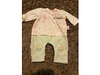 Baby Annabell outfits and baby carrier