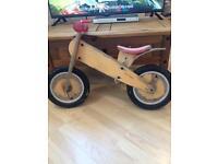 Wooden old school like bike