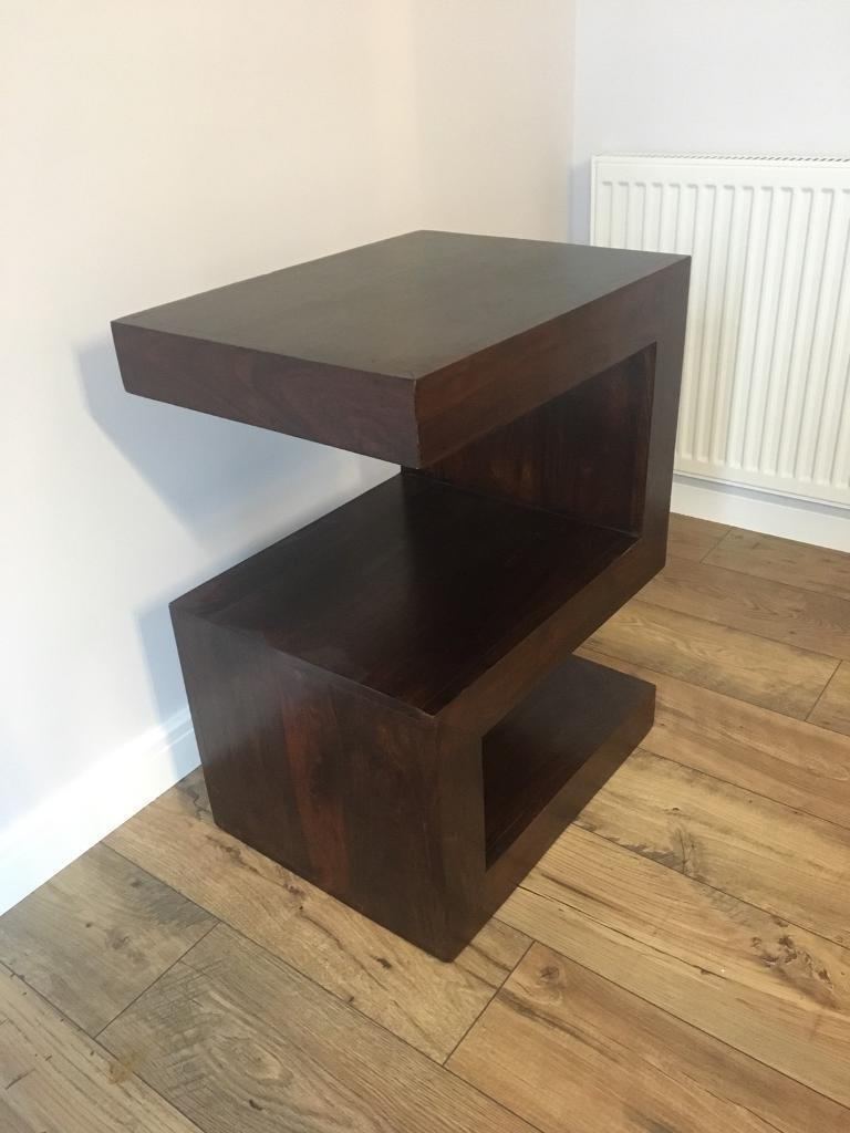 Mango S Shaped Side Table Very Good Condition Rrp 119 95
