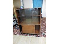 FREE Solid Wood Vintage Storage Cabinet. FREE.