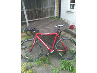 Road Bike in very good condition for sale. £120 in Archway/Holloway area. With lock and lights.