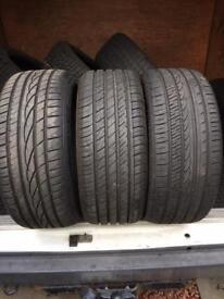 4x 255 35 20 as new tyres 8mm tread FREE MOBILE FITTING