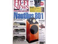 CLASSIC REVIEWS OF THETA PIONEER MJ-D707 CRIMSON NIAM B&W TAG McLAREN SNELL DAB