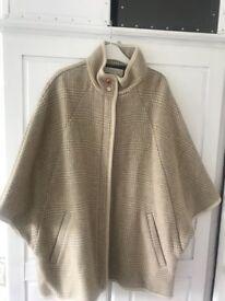 Ladies cape coat