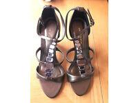 Next Brown Sandals size 5 357-848 ED/ 1282