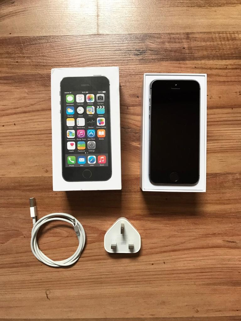 iPhone 5s grey slate 32gb any networkin Coatbridge, North LanarkshireGumtree - This iPhone has had a gel protector on since new this has caused the little makes you see in pictures. It also has had a tough screen protector on since new and the screen is in mint condition as you can see from pictures. It can take any SIM card an...
