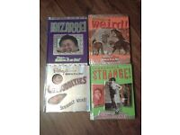 The Weird, The Strange, The Bizarre x 4 books