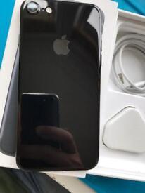 IPhone 7 jet black 32gb ( unlocked) any network