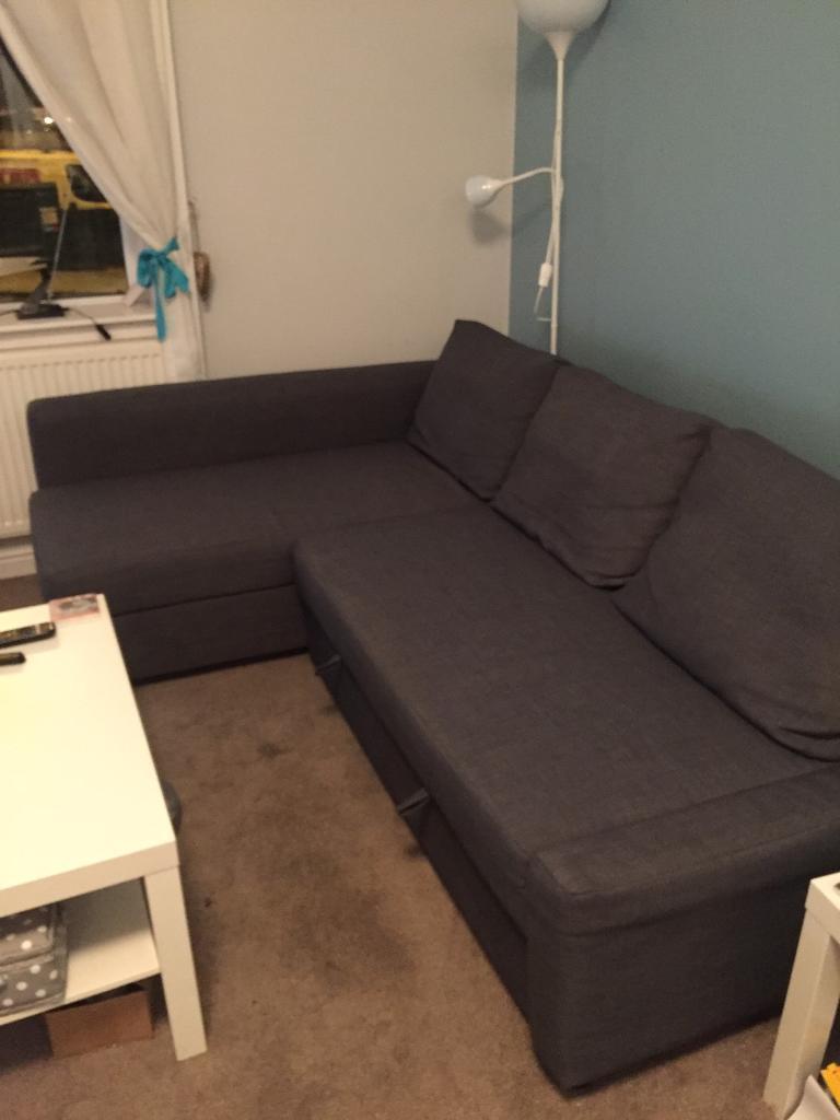 Ikea Friheten Corner Sofa Bed With Storage In Croydon