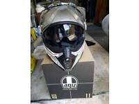 motor bike helmet motor x?