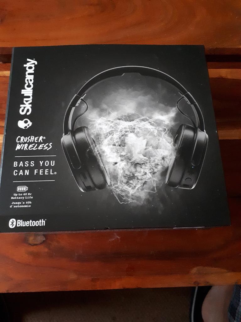 Skullcandy crusher Bluetooth headphones | in Stowmarket, Suffolk | Gumtree