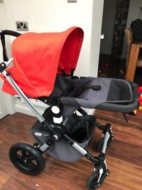 600 Ono Bugaboo cameleon and be safe car seat with accessories