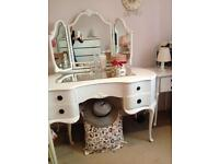 Full bedroom set shabby chic,