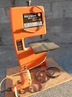 Black & Decker drill operated Band Saw
