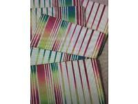 Ella Doran at Portmeirion - 6 x Placemats - Rectangle - Coloured stripes design