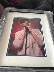 Signed Louis Tomlinson canvas