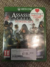Xbox one Assassins Creed Syndicate