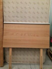 Alston single 2 drawer divan bed with mattress and headboard in excellent condition