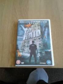 The raid dvd