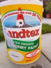 Masonry paint 5L