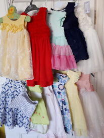 Lots of baby girl's dresses ( individual prices)size 9-12 months