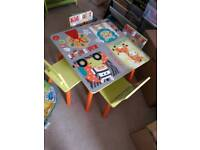 Kids table and four chairs