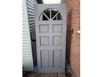 External Hardwood Door - Pre-primed never fitted