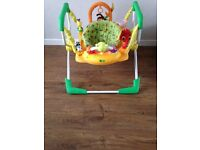 Baby jump and play activity centre