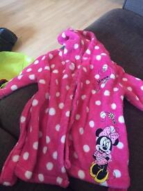 Minnie Mouse Dressing Gown 0-3