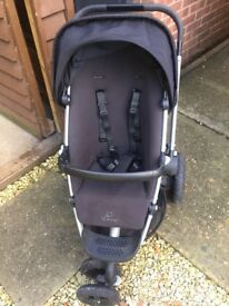 Quinny buzz extra and carry cot