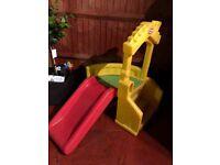 Little tikes climb and slide children's slide