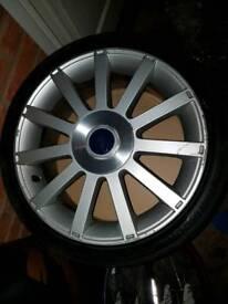 Fiesta st150 alloys
