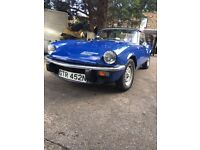 Triumph spitfire good condition lots of history tax exempt