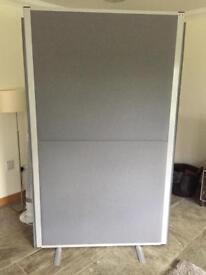 Acoustic room divider