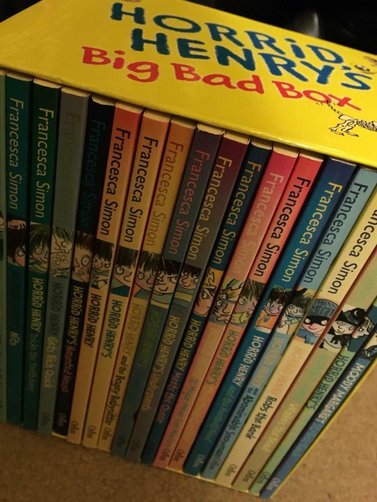 Horrid Henry Big Bad Boxset
