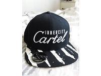 Innercity 'Cartel' Black Baseball Cap New Unused