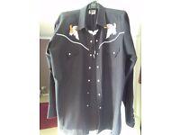 Gents western shirt & necktie