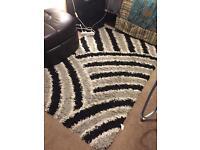 High pile rug