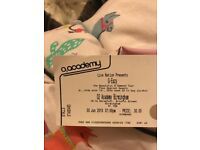 2 G-Eazy tickets for Birmingham, 3rd of June
