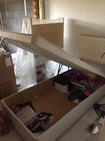 Dreams ottoman storage bed -single