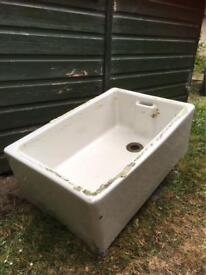 Belfast Stone Sink in Good Condition
