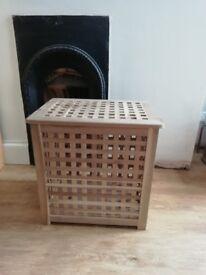 Ikea wooden storage box £5