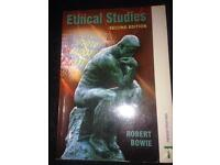 Ethical studies book