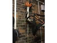 Fs410c large stihl strimmer with harnis