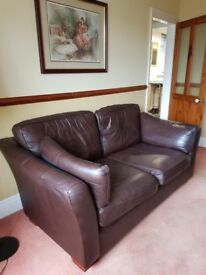 Leather 2 Seater Marks and Spencer sofa