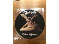 Whitesnake Saints & Sinners Picture Vinyl