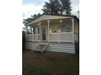 Luxury Lodge Holiday Home For Sale, 12 Month Park WALES. Decking AND 2017 Fees Included!