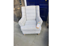 Modern Armchair , in great condition Must be seen Size W 31in D 29in H 37in Free Local Delivery