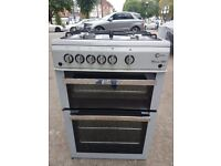 FLAVEL ML61NDSP 60cm FULL GAS DOUBLE OVEN COOKER(second hand) 07951551712/07535853439