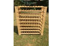 Wine Rack. Hardy Ever Used. In Great Conditions